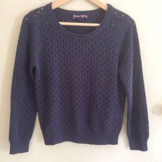 Princess Highway Blue Jumper Size 8