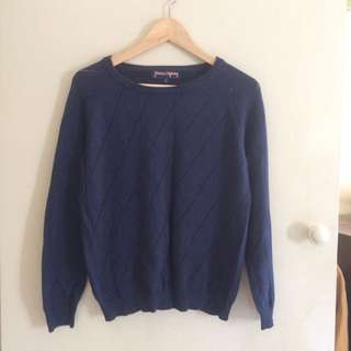Princess Highway Navy Jumper Size 10