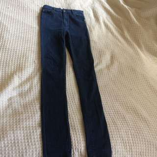 CHEAP MONDAY High waisted Jeans Size 27
