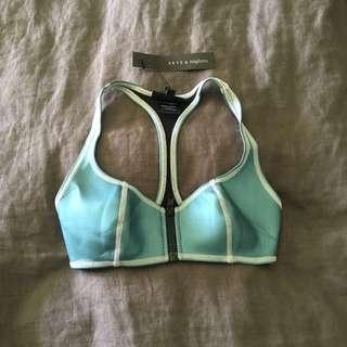 SKYE & Staghorn - Metallic Bikini Top