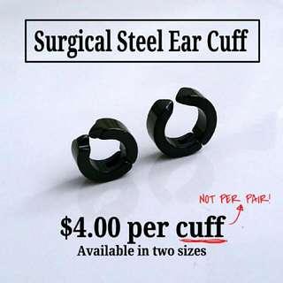 316L Surgical Steel Ear Cuff