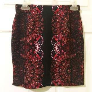 Bodycon skirt (size Small)