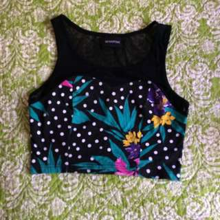 Mink Pink Crop Top Size Small