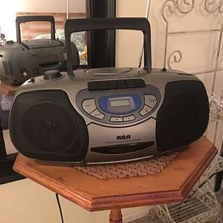 RCA CD Player & Radio