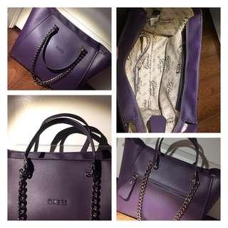 Purple Guess Purse