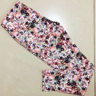 Zara Flowery Pants