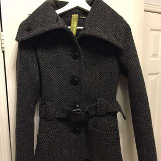 Soia & Kyo Wool Coat Size Small