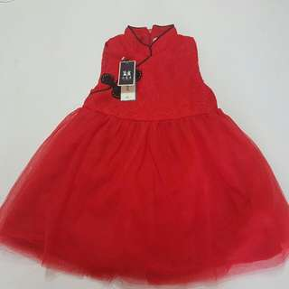 Chinese New Year Dress For Petty Princess Girl