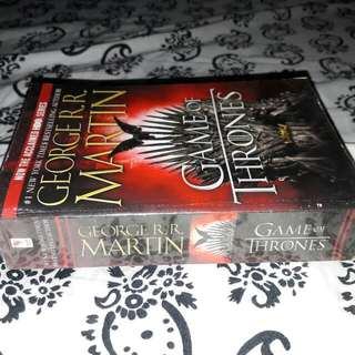 George R.R Martin's Game Of Thrones. Price can be adjust.