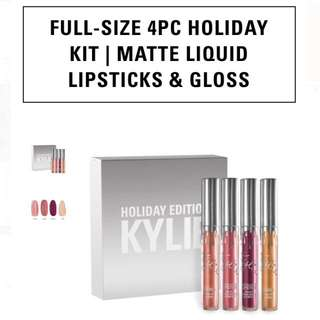 Kylie Full Size 4-pc Holiday Kit