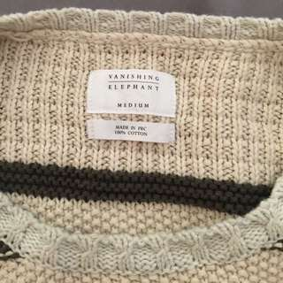 Vanishing Elephant Knit