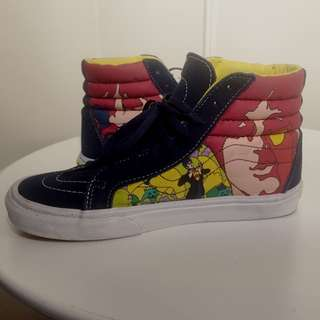 The Beatles Yellow Submarine Vans High tops