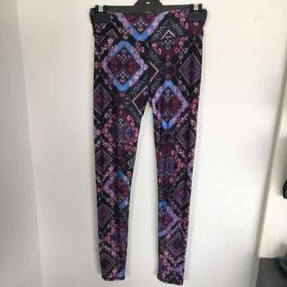 Full Length Printed Active Pants