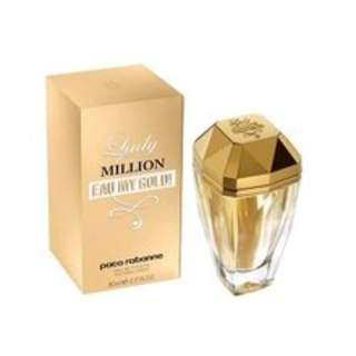 LADY MILLION EAU MY GOLD 80ml EDT SP by PACO RABANNE