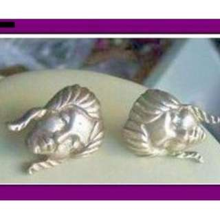 Art deco vintage sterling screw earrings Mexico from my personal collection