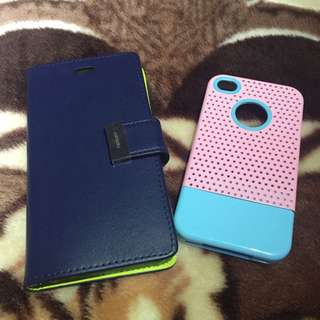 2 iPhone 4case For 5