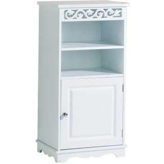 Lure Floor Cupboard in WHITE