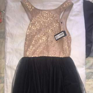 Small Brand New Sequinned Party Dress