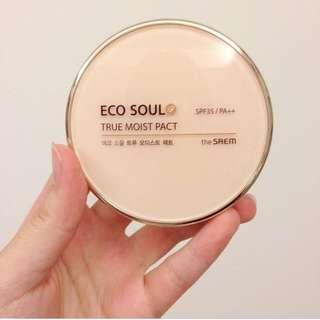 The SAEM ECO SOUL礦物質粉餅 色號21