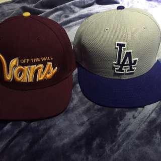 Vans And LA Straight Rims Hat