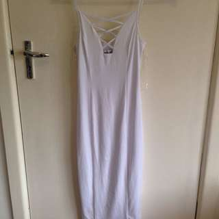 Tiger Mist XS White Dress