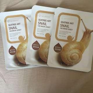 Seatree Art Snail Mask Sheets