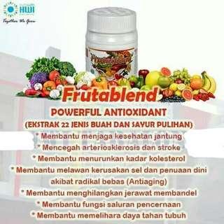 frutablen anti oxydant. banyak manfaatnya