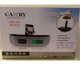 【行李秤出租】LED顯示螢幕行李秤 出國不怕超重 便攜式手提秤電子秤