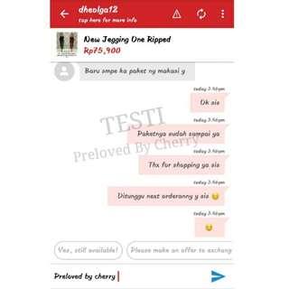 TESTI - Thx For Shopping Dear ❤
