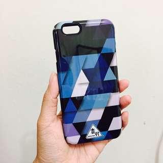 免運-iphone6/6s青村夢幻幾何菱格TPU+PC全包手機殼