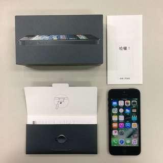iPhone 5 32G 黑色《無配件,僅手機》