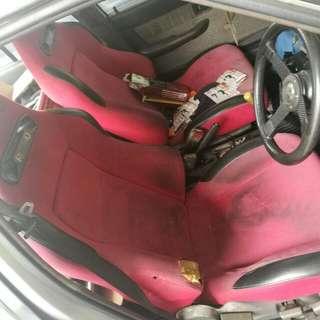 Semi Bucket Seat RECARO Style