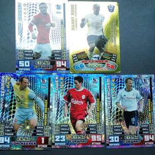 Match Attax Cards (Record Breakers)