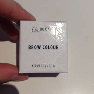 Colourpop brow colour in Red Head