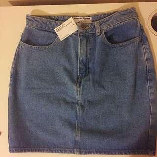 American Apparel Denim Skirt BNWT Size M