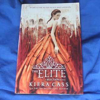 [RESERVED] The Elite By Kiera Cass (Paperback)