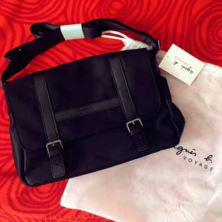 【100% 🆕】Agnes b. Nylon Shoulder Bag