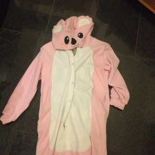 Pink Koala Onesie