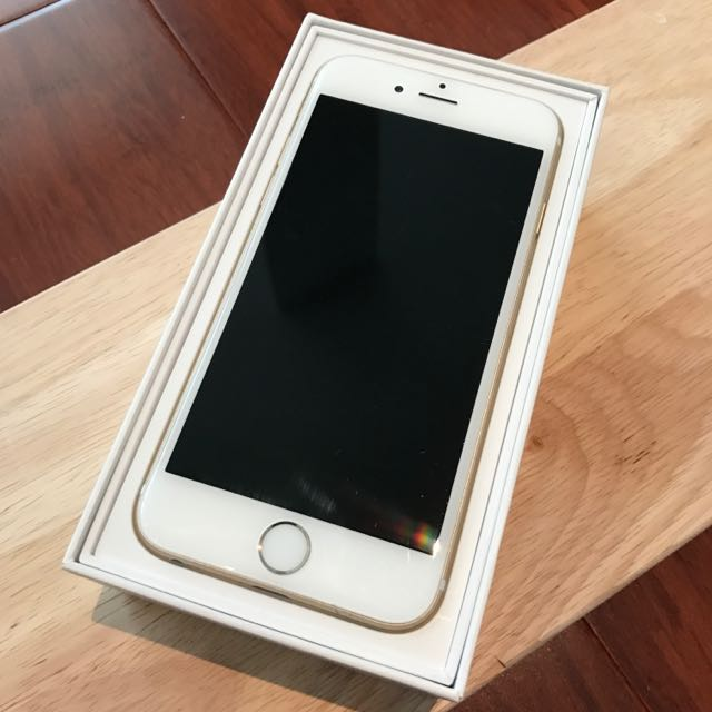 (Melbourne)2015 IPHONE6, Gold, 64GB perfect condition $420