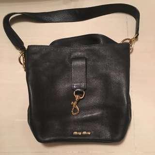 Miu Miu Black Leather Bag