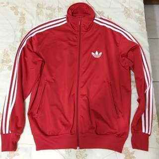 Adidas 紅色運動外套