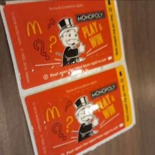MacDonald Unopened Labels