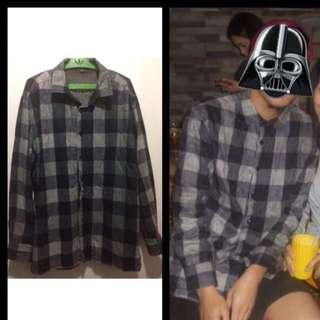 Preloved Mens Fleece Shirt