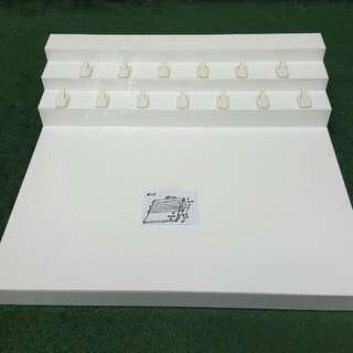 Acrylic Step Display 38x37x10cm (LxWxH)