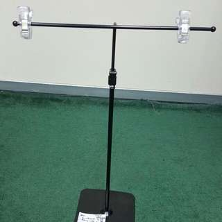 Steel Display. 29cm Length. 37cm Height. Height Extendable To 68cm.