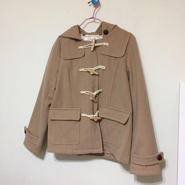 日本帶回🇯🇵駝色卡其色大衣