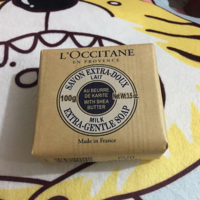 歐舒丹乳油木牛奶皂