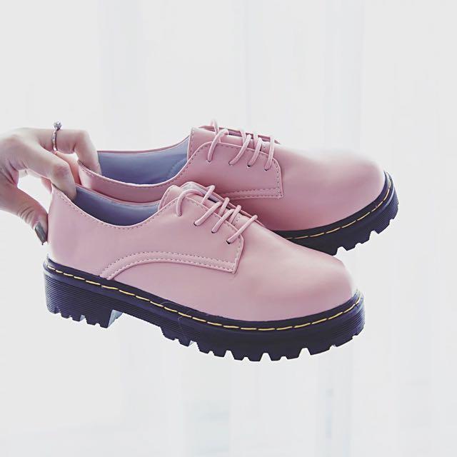 復古厚底鞋