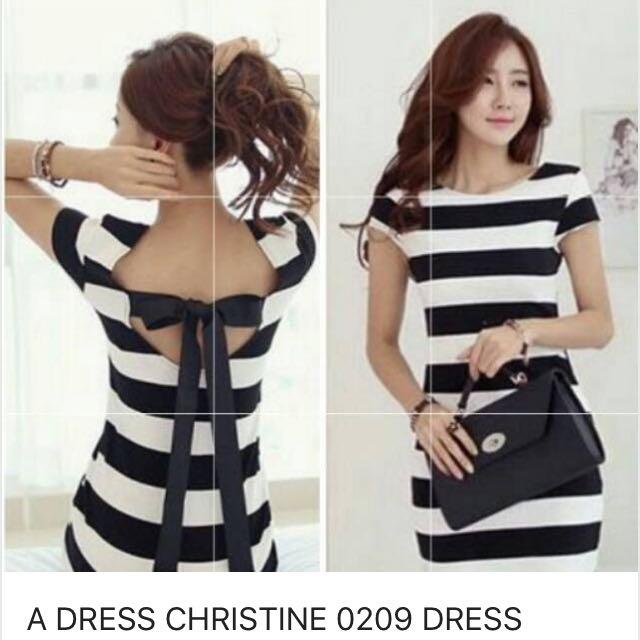 A Dress Christine