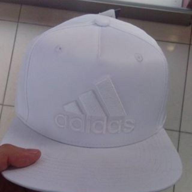 Adaidas全白帽